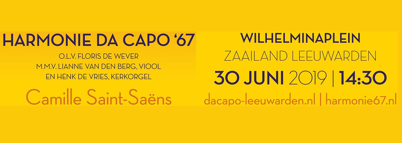 Harmonie'67 en Da Capo op CityProms