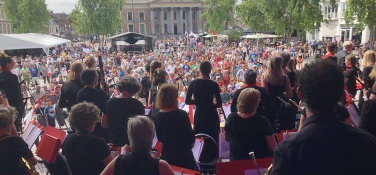 Grandioos optreden van Harmonie Da Capo '67 tijdens CityProms